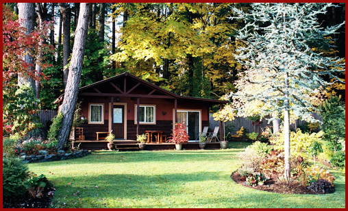 Comox Valley Cottage Accomodations - Courtenay BC